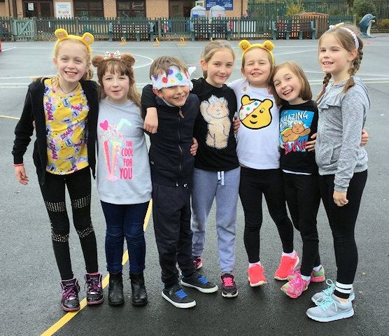 East Crompton St James' CE Primary School joined millions of others in raising funds for BBC's Children In Need