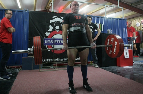 DAVID Clifford, from Lees, took two British records, lifting 83kg