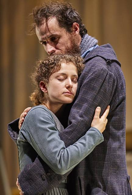 CLASSIC . . . Nadia Clifford and Tim Delap (Jane Eyre and Rochester) in Jane Eyre