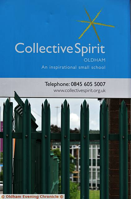 SET to close . . . Collective Spirit school in Chadderton