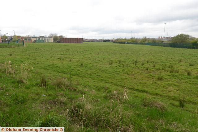 The site of the former South Chadderton School, now the Collective Spirit School..