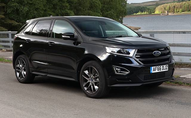 The Ford Edge A Stylish Large Suv Thats Terrific To Drive