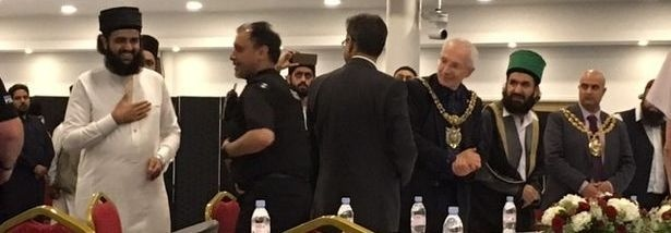 Controversial clerics Muhammad Naqib ur Rehman and Hassan Haseeb ur Rehman spoke at a 'counter terrorism' conference in Oldham on July 21.