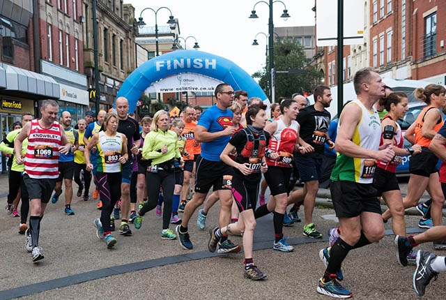 Put your best foot forward in this year's Milltown Races Oldham Half Marathon