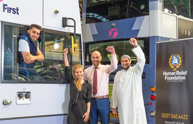 Talented bus driver Naseeb Abbas raised £113,521 for the Human Relief Foundation