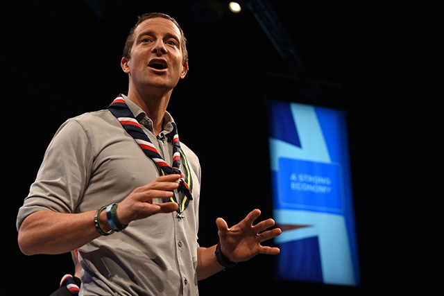 Chief Scout Bear Grylls