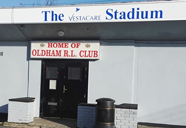 The Vestacare clubhouse, both rooms, will be the Roughyeds' for the night