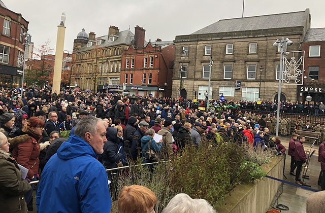 Remembrance Sunday Ormskirk