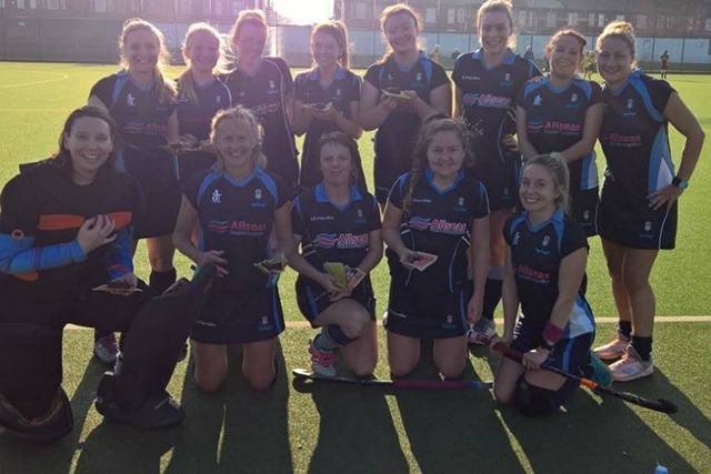 Oldham's second team lost 5-1 at Manchester University Ladies