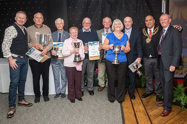 Pictured are all the overall winners at annual First Choice Homes Oldham Growing Together awards evening