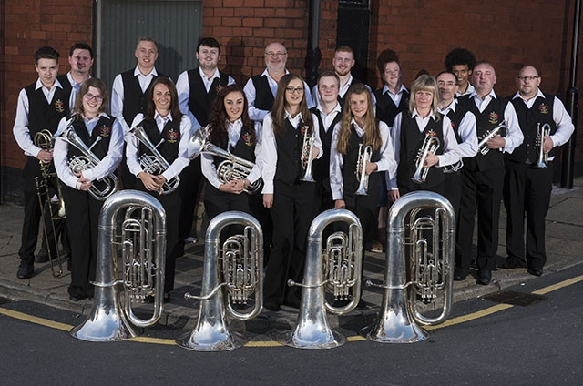 The Oldham Band (Lees) play the Coliseum on December 11