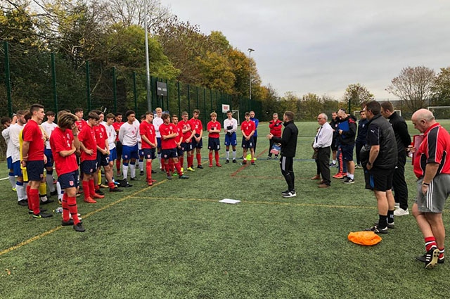 Under-18 boys' trials began on October 20 in the North of England