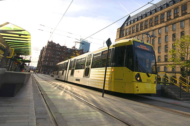 Family racially abused while on Oldham bound tram