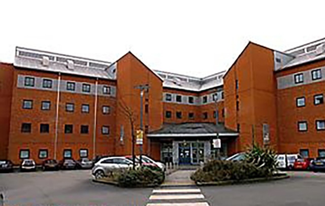 The University Campus Oldham building