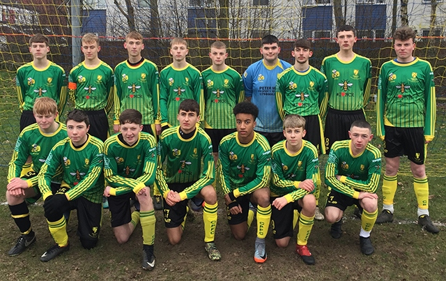 Chadderton Park under-17s Eagles lost at AFC Stanley