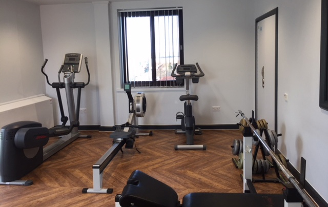The new gym on Oldham's Aspen ward