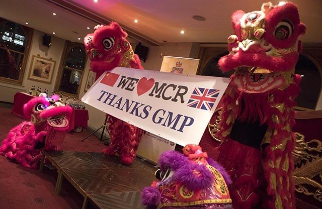 55516584be68 The Yang Sing restaurant welcomed GMP officers and staff who were involved  in last year s Manchester
