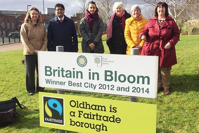 Celebrating a decade of fair trade in and around Oldham