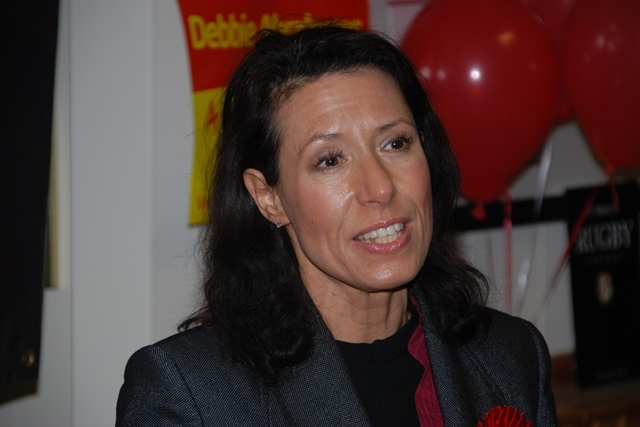 Debbie Abrahams has urged local people to check in on their neighbours during the cold snap, while also vowing to help her constituents affected by fuel poverty