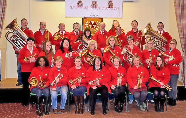The Dobcross Brass Monkeys brass band are seeking new recruits