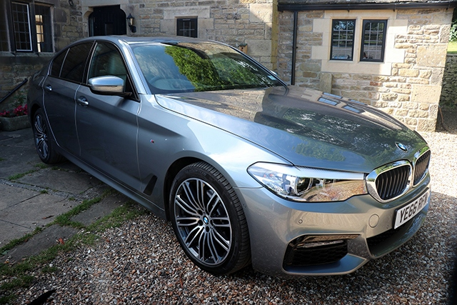 The BMW 520d M Sport Saloon