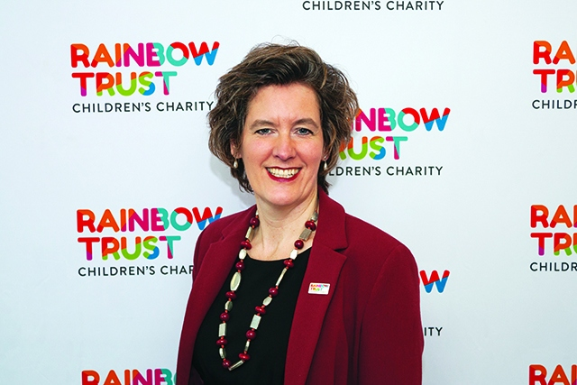 Rainbow Trust Children's Charity chief executive Zillah Bingley