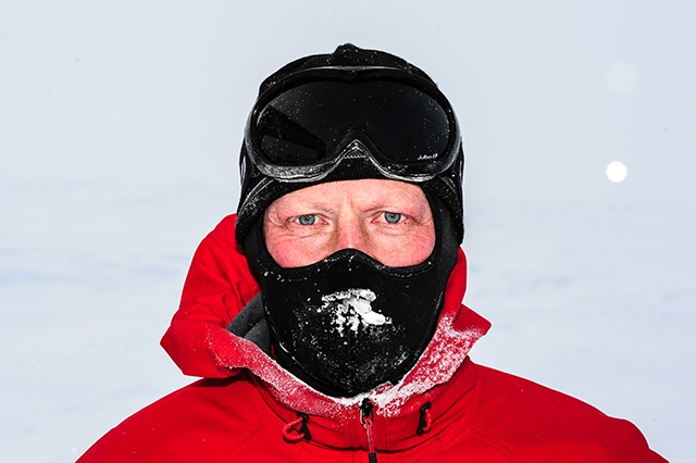 Steve Hill is gearing up for the gruelling Arctic Ice Ultra Challenge