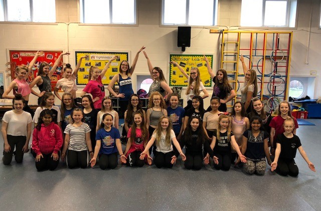 Girls from the Samantha Jane School of Dance in Chadderton have been hard at work rehearsing