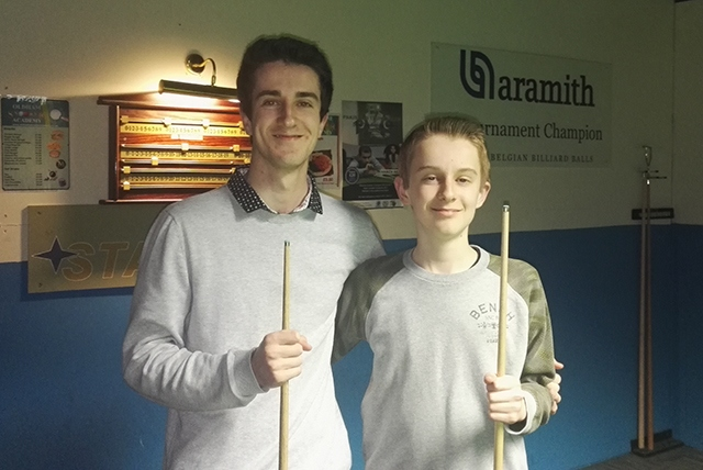 Talented potting siblings Aaron (left) and Ryan Davies