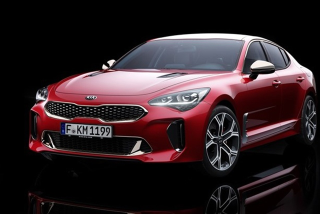Check out the new Kia Stinger