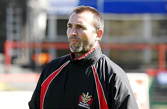 Roughyeds head coach Scott Naylor