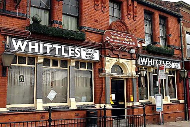 Oldham live music venue Whittle's has closed down