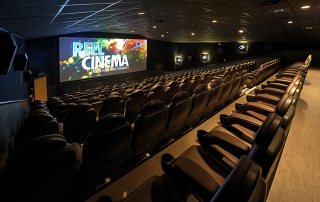 The refurbished Reel Cinema in Burnley