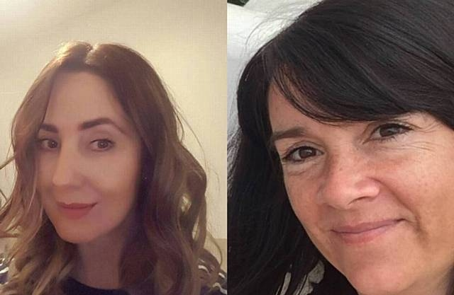Royton mums Lisa Lees (left) and Alison Howe were killed in the Manchester Arena attack