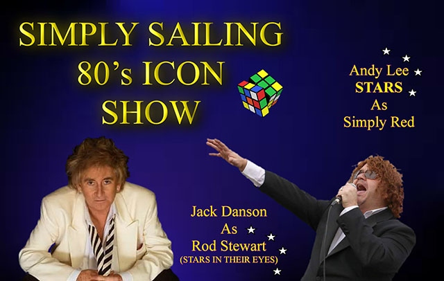 The 'Simply Sailing 80s Icon Show' takes place on September 14