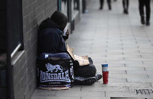 Homelessness is a huge issue in many of Greater Manchester's towns