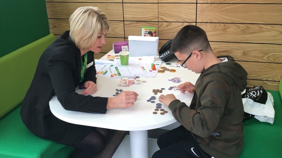 Yorkshire Building Society colleagues will be teaching free financial education to children during October half term