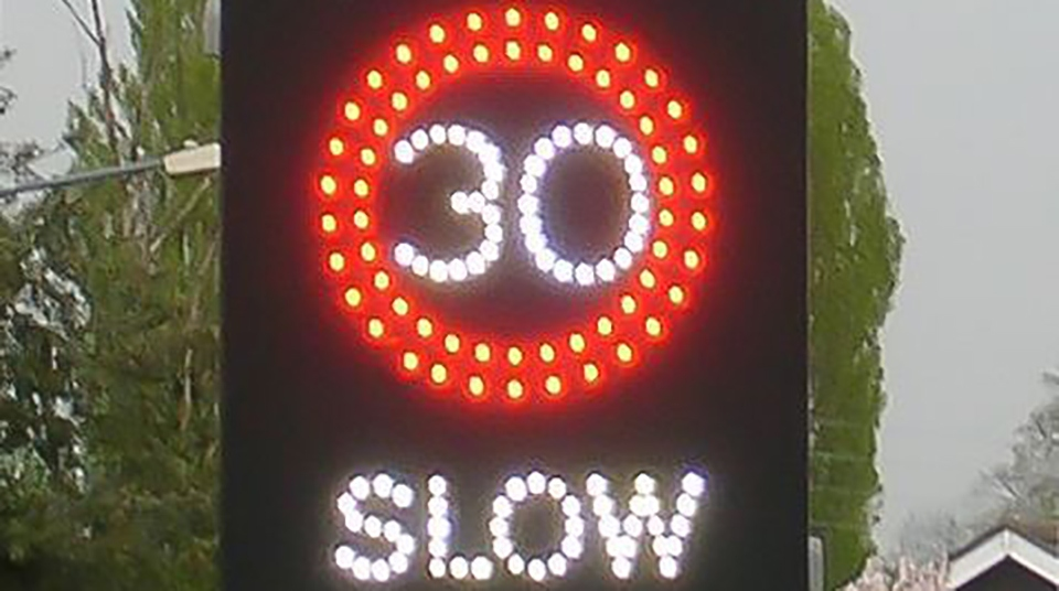 Oldham News | Main News | Speed warning signs 'not working or faulty' - Oldham Chronicle