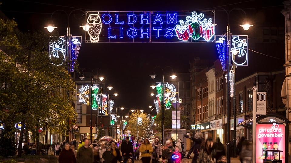 Oldham News | Main News | Oldham's Christmas festivities get underway - Oldham Chronicle