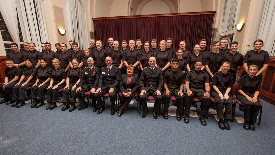 Oldham News | Main News | 37 new Special Constables join Greater Manchester Police - Oldham Chronicle