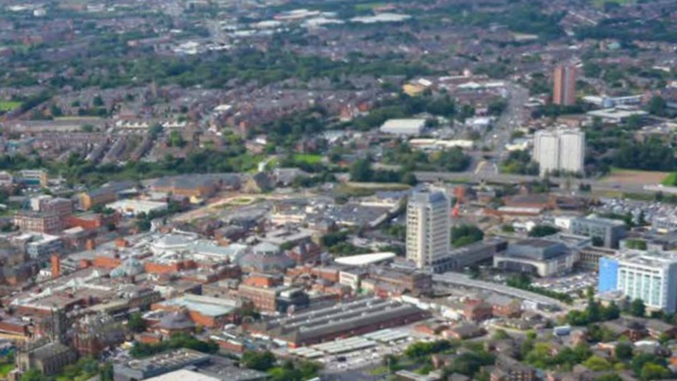 Oldham Town Centre