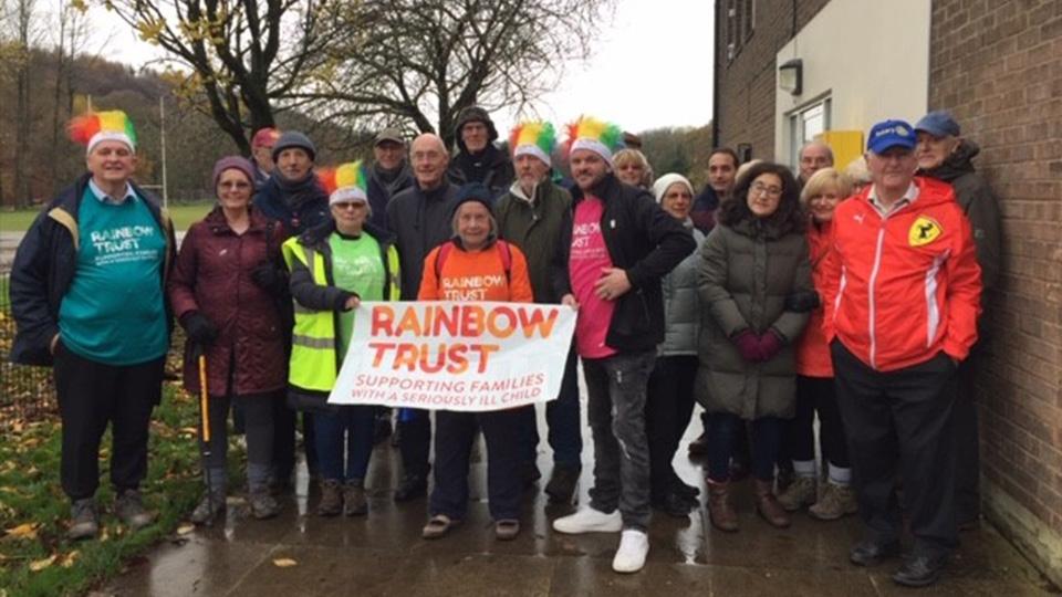 Oldham News | Community News | Walk for the Rainbow Trust - Oldham Chronicle