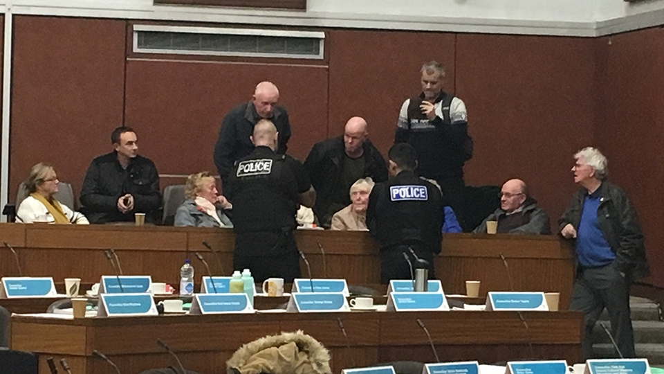 Officers called to council meeting