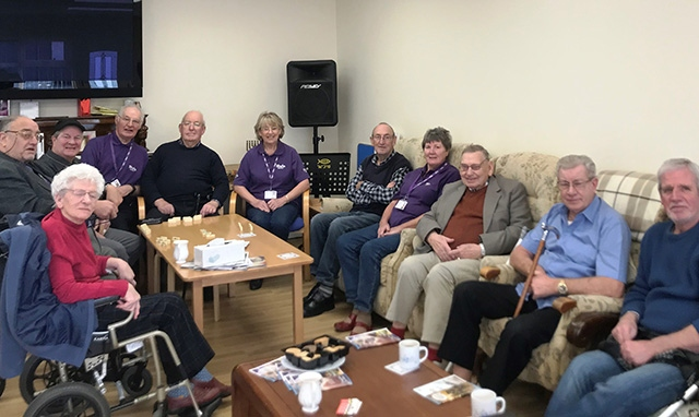 Pictured are members of the Oldham Stroke Support Group