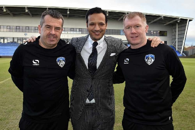 Scholes the new boss at Latics