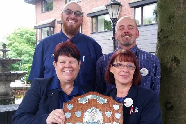 Community Award for Tesco workers