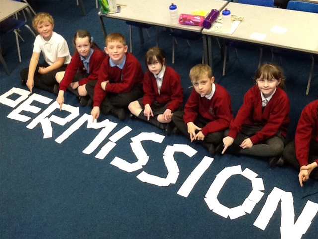 Pupils at Mayfield Primary School have been learning how to protect themselves online