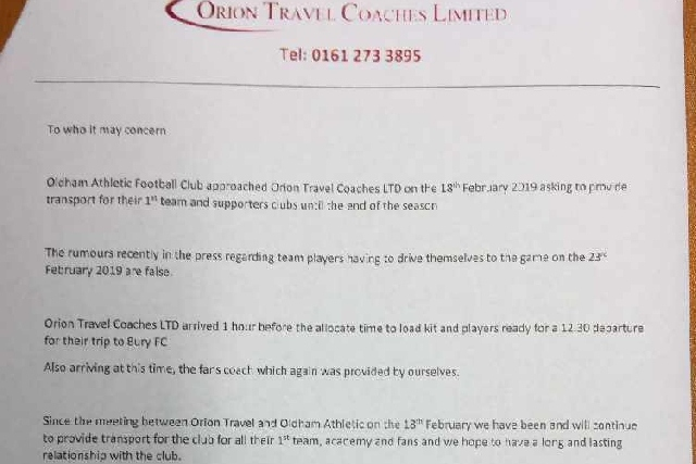 Orion Coaches Limited