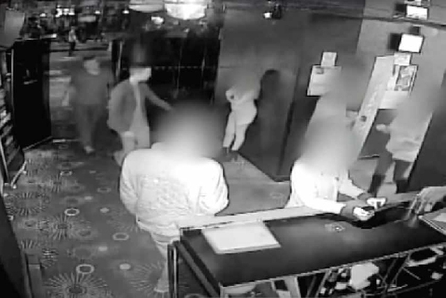 CCTV Footage from inside Liquid and Envy