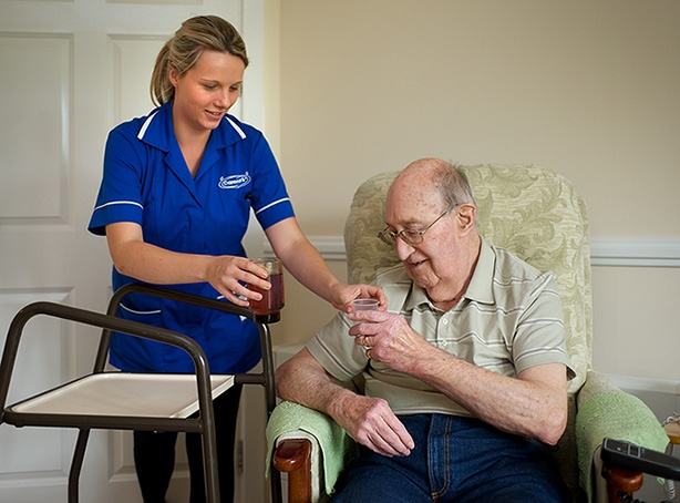 The Caremark team will help you with each step of the Care process.